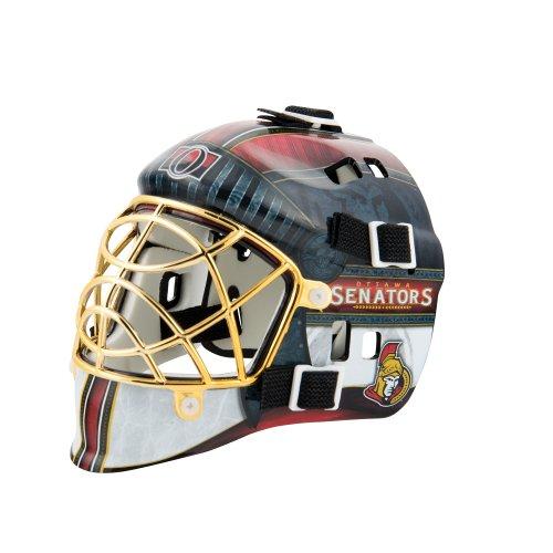Franklin Sports NHL League Logo Ottawa Senators Mini Goalie Mask