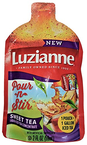Luzianne Pour-N-Stir Iced Tea Pouch, 2 Ounce (Pack of 12)