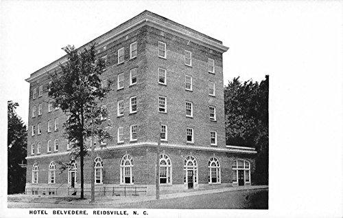 Reidsville North Carolina Hotel Belvedere Antique Postcard J36104
