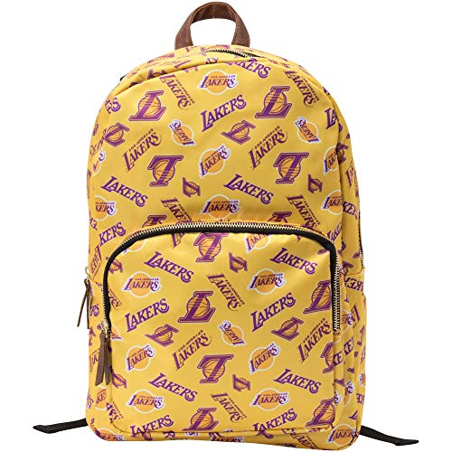 FOCO Los Angeles Lakers NBA Printed Collection Backpack