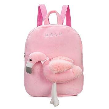 Mochilas de felpa para niños y bebés, bonitas mochilas para muñecas de dibujos animados.