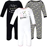 Hudson Baby Unisex Baby Cotton Coveralls, Sparkle