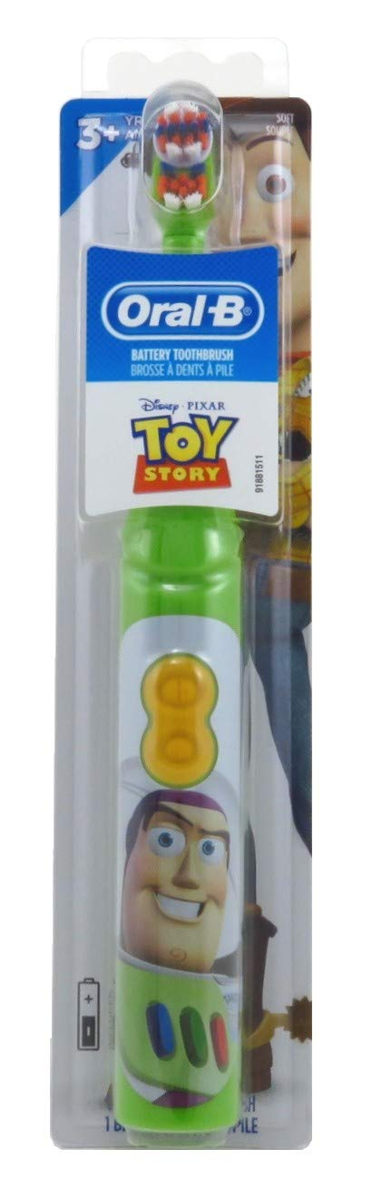 Oral-B Toothbrush Power Toy Story (Timer) Soft (6 Pack)