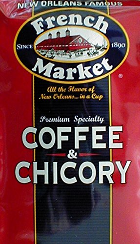 French Quarter French Market - French Market Coffee & Chicory (4 Bag Pack)