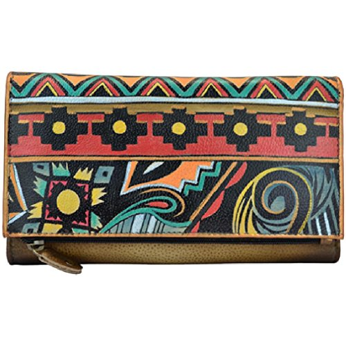anuschka-antique-aztec-three-fold-clutch-wallet