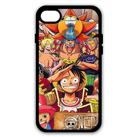 One Piece Picturesque Phone Protection Coques for Coque iphone 7 - 4.7 pouce Screen Coque Cover