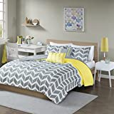 Intelligent Design Nadia Coverlet Set, Full/Queen, Yellow