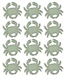 Chesapeake Bay Cast Iron Drawer Pulls Distressed White Cast Iron Coastal Crab Drawer Pull Set Of 12 2.75 X 2.25 X 1.75 Inches White