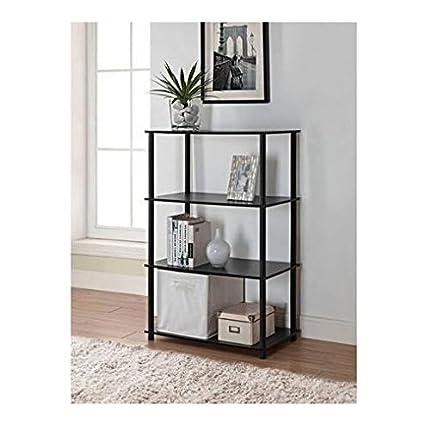 Mainstays No Tools 6-Cube Storage Shelf (Black Oak)  sc 1 st  Amazon.com & Amazon.com: Mainstays No Tools 6-Cube Storage Shelf (Black Oak ...