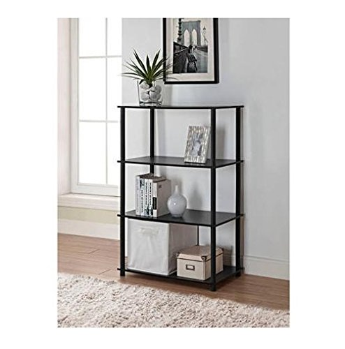 Review Mainstays No Tools 6-Cube Storage Shelf (Black Oak) By Mainstay by Mainstay