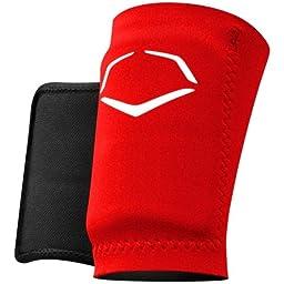 EvoShield Protective Baseball Wrist Guard,Red,Medium