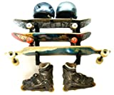 StoreYourBoard Ski and Snowboard Storage Rack