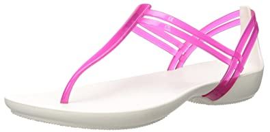 crocs Damen Isabellatstrap Slip on Sandalen