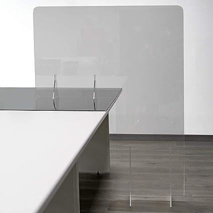 GRUPO ZONA | Mamparas para oficinas | Material Metacrilato | Transparente | Modelo Seattle 2 |
