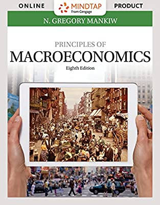 MindTap Economics for Mankiw's Principles of Macroeconomics, 8th Edition