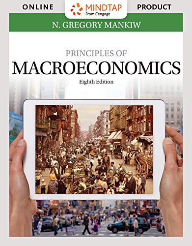 MindTap Economics for Mankiw's Principles of Macroeconomics, 8th Edition by Cengage Learning