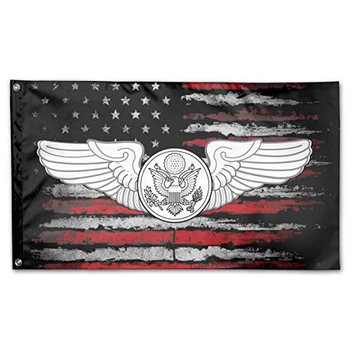 JANLAGERFLAG 3x5 Foot Air Force Enlisted Aircrew Member American Flag