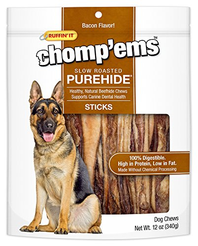 Ruffin' It Purehide Sticks Healthy Natural Rawhide 12Oz