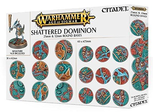 Games Workshop 99120299033 Aos Shattered Dominion Tabletop and Miniature, 25-32 mm
