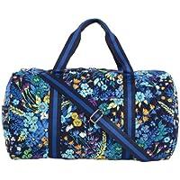 Vera Bradley Round Duffel Travel Bag
