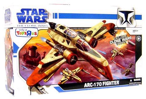 (Star Wars Clone Wars Animatd Series Vehicle ARC-170 Fighter)