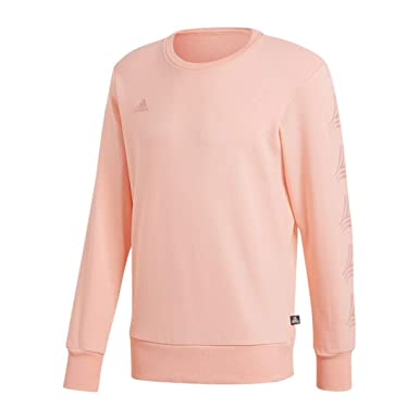 in stock outlet boutique cheapest Amazon.com: adidas Tango Crew Sweatshirt - Men's Soccer Pink ...