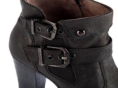 Nero Giardini P616480D Negro Calzado Botas a tobillo Zapatos De Mujer Negro