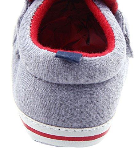 La Vogue Zapatos Bebe Infantil Patrón Perro Primeros Pasos Gris Talla 13cm