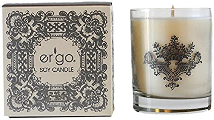 Ergo Soy Candle Pearl Collection (7oz Silver Chi)