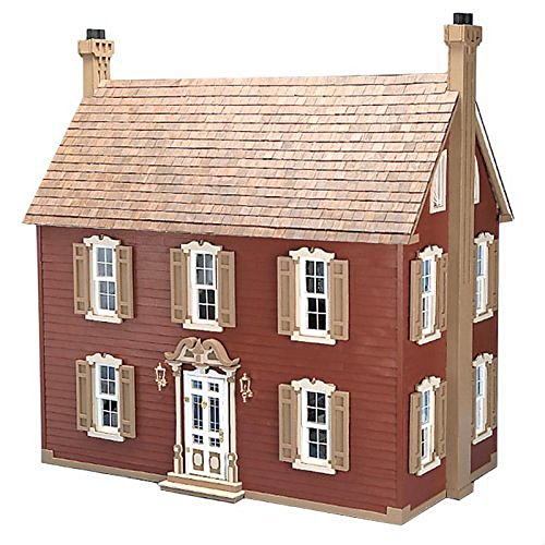 Kit Dollhouse Willow - Greenleaf Willow Dollhouse Kit - 1 Inch Scale