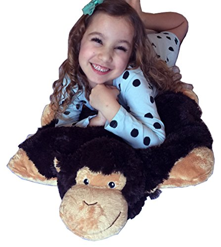 Monkey ZooPurr Stuffed Animal Pillow