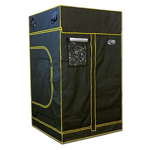 51kHDsUzTaL Lighthouse Hydro Hydroponics Grow Tent, 48 by 48 by 84-Inch