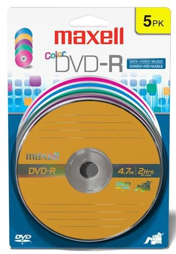 Maxell 638033 Dvd-R 4.7 Gb Card from Maxell