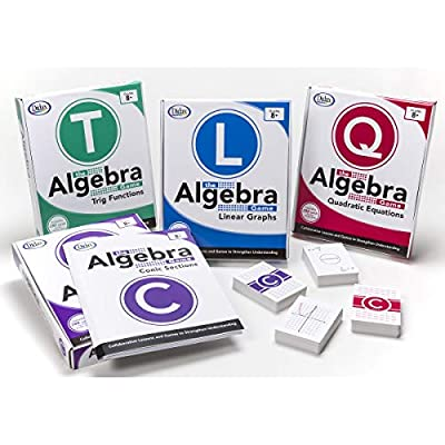 Didax Educational Resources The Algebra Game: Quadratic Equations Basic Educational Game: Toys & Games