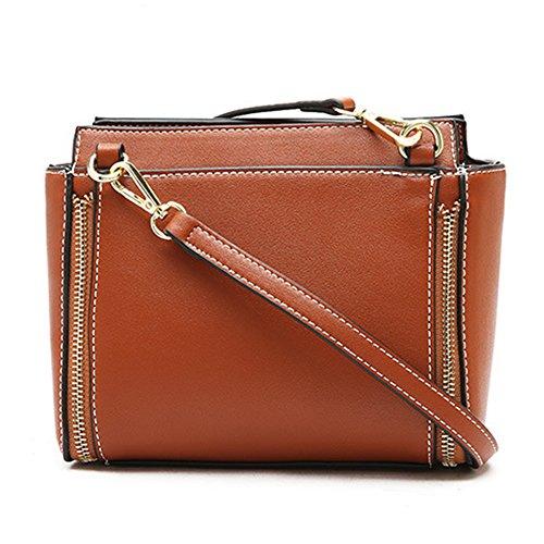 Girls Pure Color Shoulder Bag Large Capacity Pu Messenger Bag Retro Design Stretchable Shoulder Stra Shopping Bags Outdoor Gray