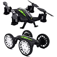 ToyPark New Design Cam Off-road Remote Control Flying Car with 2.4G RC Quadcopter