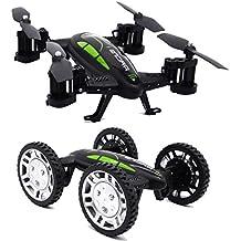 toypark nuevo diseño Cam Off-Road Control Remoto Flying coche con 2.4G RC Quadcopter