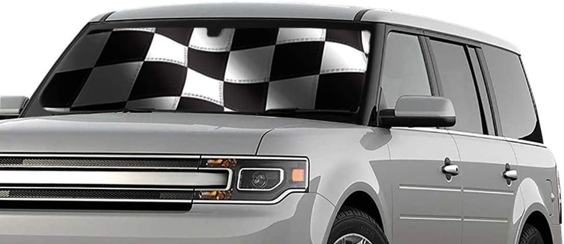 Intro-Tech TT-911-R Silver Ultimate Reflector Custom Fit Folding Windshield Sunshade for Select Toyota Avalon Models