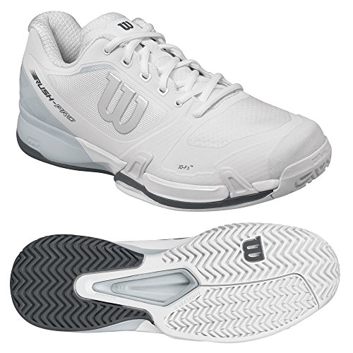 ZAPATILLAS WILSON RUSH PRO 2.5 MORADAS Y NEGRAS Blanco (White / Pearl Blue / Iron Gate)