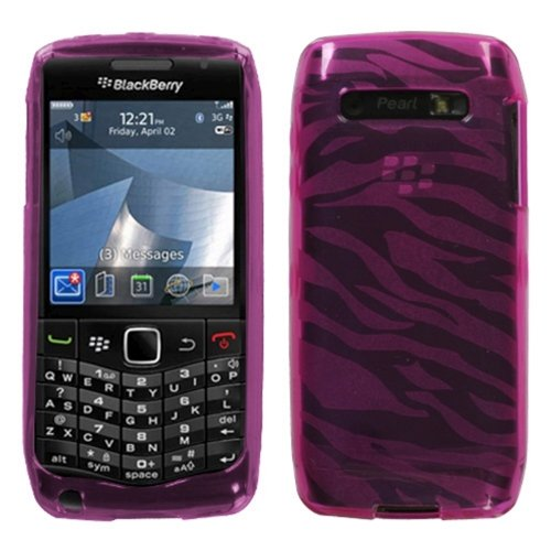 (Asmyna BB9100CASKCA052 Slim and Durable Protective Cover for BlackBerry Pearl 3G 9100/9105 - 1 Pack - Retail Packaging - Hot)