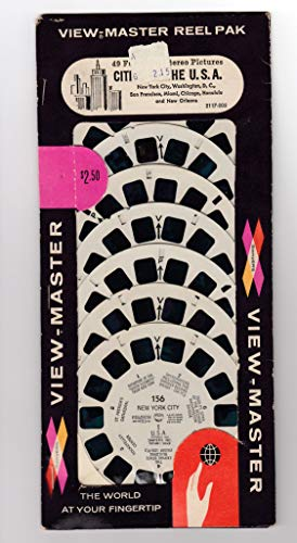 View Master SAWYER'S Reel PAK Cities of The U.S.A. Unopened 7 REELS York City, Washington D.C. SAN Francisco, Miami, Chicago, Honolulu Orleans by View Master (Image #2)