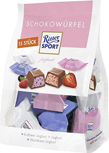 Ritter Sport Chocolate Cube Yogurt 120g Bag