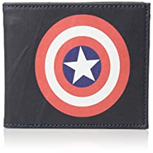 Marvel mens Slimfold Wallet in Collectible Tin Box