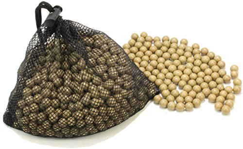 "Fedmax Fedmax Slingshot Ammo, (1,100pc) 3/8"" Clay Ceramic Ball, Brown, Includes Carrying Bag, Ricochet Resistant, Bio-Degradable Shot price tips cheap"