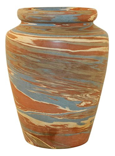 Niloak Pottery Mission Swirl Broad Shoulder Vase