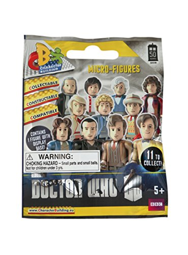 Character Building Doctor Who 50th Anniversary Micro Blind Bag Figure