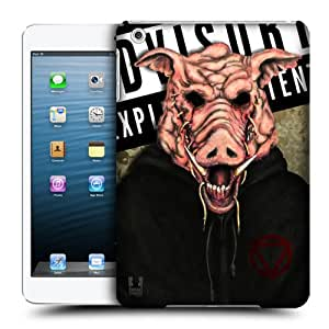Head Case Designs Pig Face Mask Lab Hard Back Case Cover for Apple iPad mini