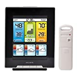 AcuRite 02007 Digital Home Weather Station with Morning Noon and Night Precision Forecast, Temperature and Humidity Gauge