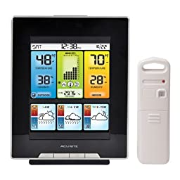 AcuRite 02007 Digital Weather Center with Morning Noon and Night Precision Forecast Thermometer