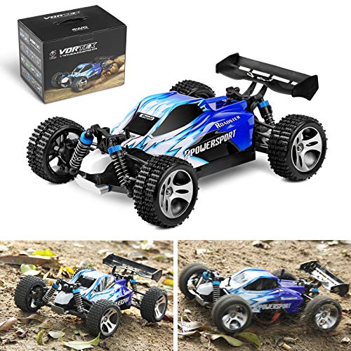 Areyourshop Wltoys A959 1/18 Scale 2.4G 4WD RTR Off-Road Buggy Electric RC Car Blue